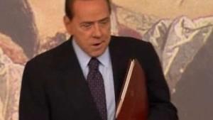 Berlusconi gibt sich nach Anklage gelassen