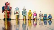 Wer macht am meisten aus dem Geld? Um die Gunst der Anleger buhlen inzwischen viele Anlage-Roboter (Symbolbild).