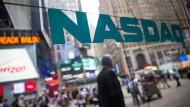 Glänzende Aussichten? An der Technologiebörse Nasdaq steigen die Kurse wieder.
