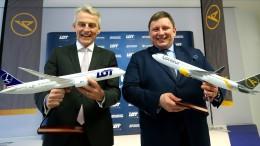 Polnische LOT übernimmt Ferienflieger Condor