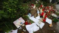 In der Nähe des Tatorts: Gedenken an die ermordete Susanna