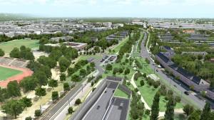 Frankfurts größtes Verkehrsprojekt greifbar nahe