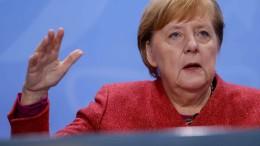 """Merkel drängt auf """"sehr schnelles Handeln"""""""