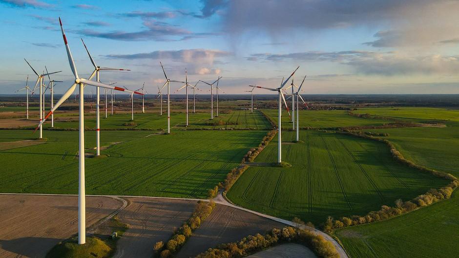 Die Zahl der Windparks, wie hier im Landkreis Oder-Spree, soll in den kommenden Jahren weiter zunehmen.