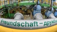 Durch die Druschba-Pipeline fließt zur Zeit kein Öl.