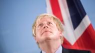 Der Mann, der als Junge Weltkönig werden wollte: britischer Außenminister Boris Johnson