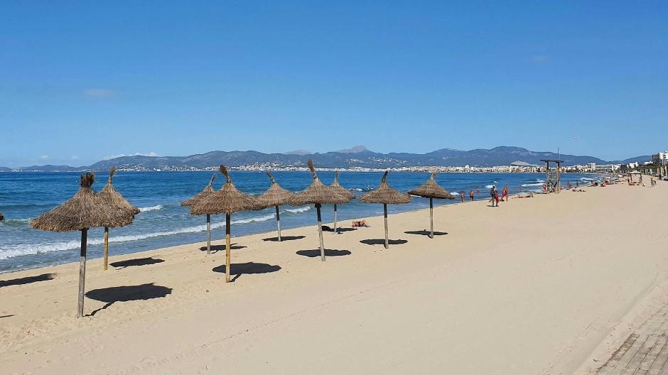 Die Infektionszahlen auf Mallorca sind jüngst gesunken