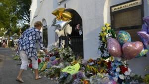 Amerikanische Regierung fordert Todesstrafe für Attentäter von Charleston