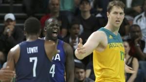 Amerika entgeht nur knapp Blamage gegen Australien