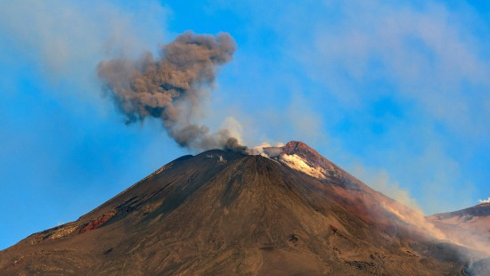 Der höchste aktive Vulkan Europas