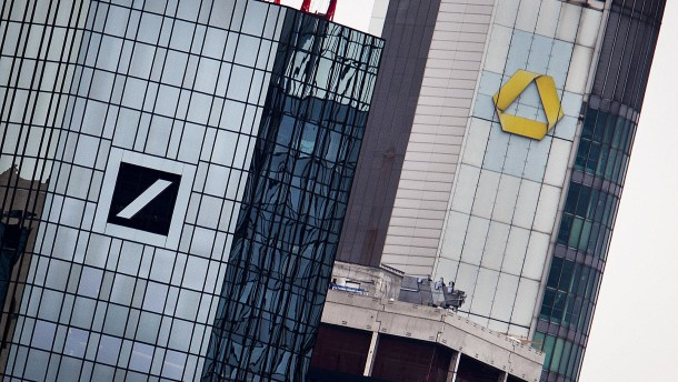 Bankenfusion bedroht 10.000 Stellen in Frankfurt