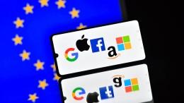 Europa stutzt die Digitalkonzerne