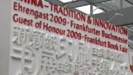 Buchmesse steht im Zeichen Chinas