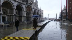 Schutzsystem Moses hält Venedig trocken
