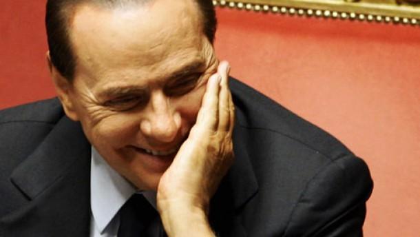 """Berlusconi bleibt im Amt - """"Ein erkaufter Sieg"""""""
