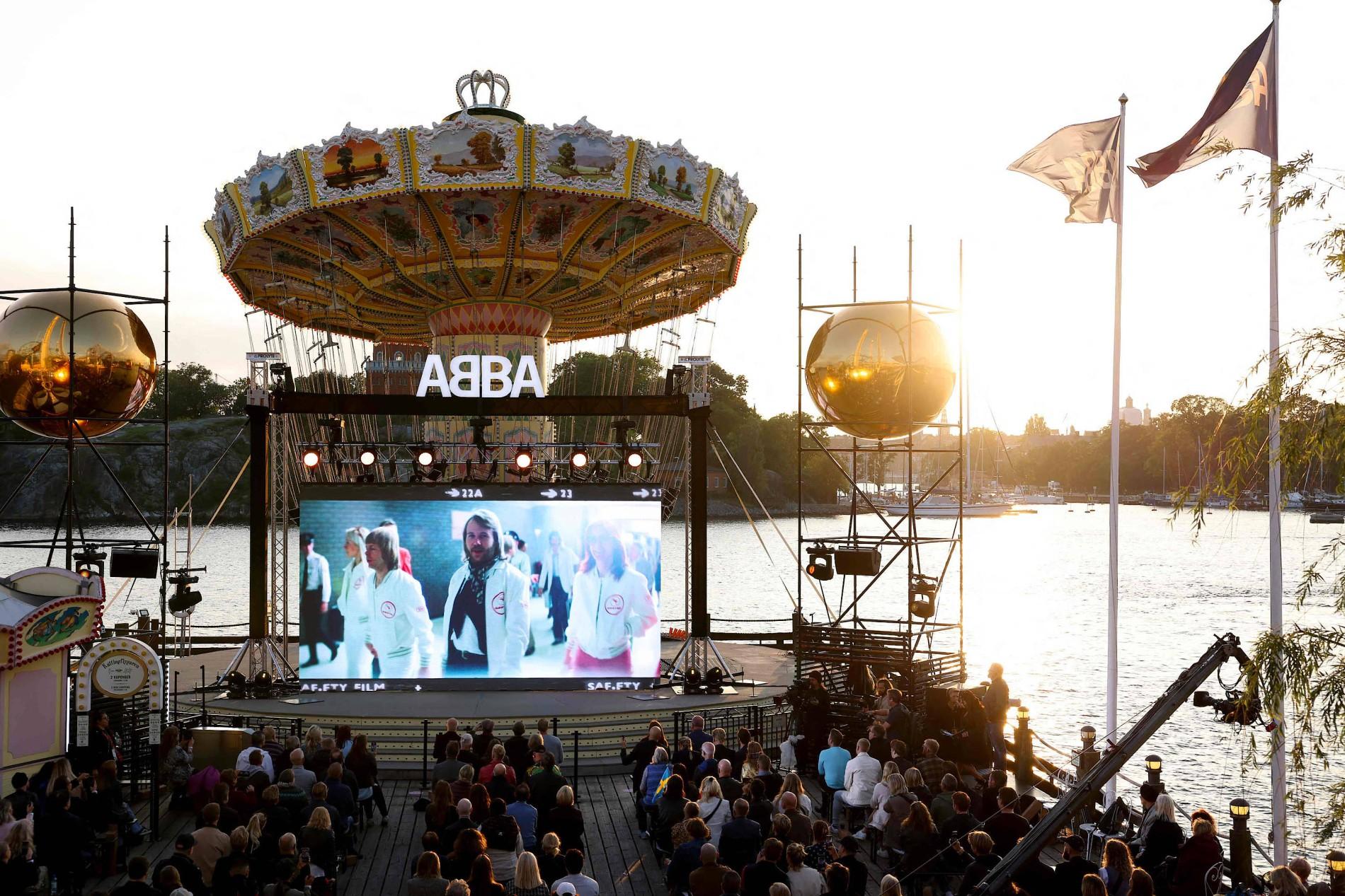 Abba kündigen Album Voyage an Fast 20 Jahre nach ihrer Trennung