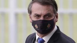 Bolsonaro ist an Covid-19 erkrankt