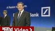 Deutsche Bank meldet Rekordgeschäft
