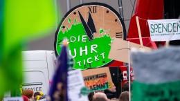 Tausende bei Klimaschutz-Demo in Mainz