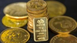 """Profis kaufen Gold"""
