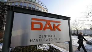 DAK verliert nach Beitragsanhebung 184.000 Kunden