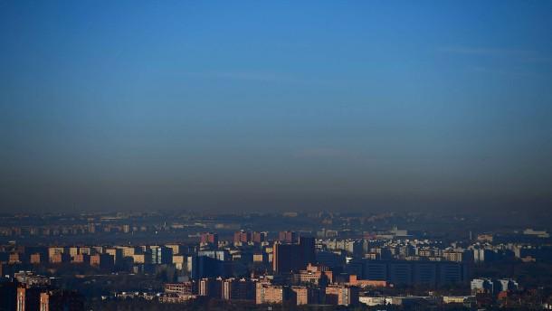 Erstmals Fahrverbot nach Smog über Madrid