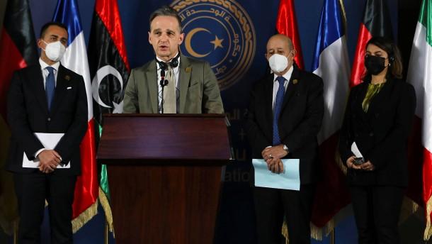 """""""Wir stehen geschlossen an der Seite Libyens"""""""