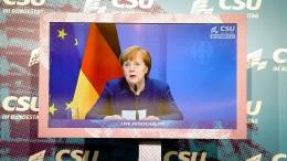 Merkel gibt Trump Mitverantwortung an Sturm auf Kapitol