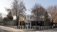 Die amerikanische Botschaft in Ankara