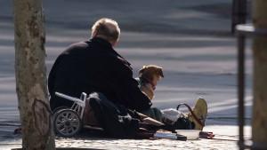 Warum das Kontaktverbot für Obdachlose ein Problem ist