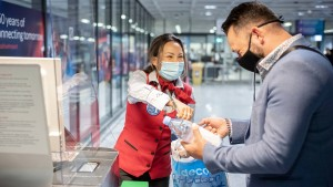 Corona-Testzentrum öffnet an Frankfurter Flughafen