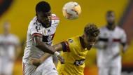 Im Risikogebiet: Flamengos Lincoln (links)