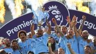 Nicht nur Meister Manchester City, sondern die gesamte Premier League kann sich über Rekordeinnahmen freuen.