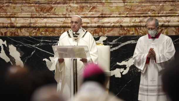 Papst hält Gründonnerstags-Messe