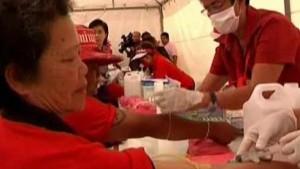 Freiwilliges Blutvergießen in Bangkok