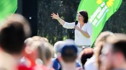 Neue Finanziers der Grünen