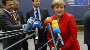Merkel fordert von EU-Chefs harte Haltung gegenüber Putin