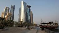 Wachstum in Gefahr: Qatars Wirtschaft befindet sich derzeit in einer Krise.
