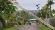 "Zyklon ""Mick"" verwüstet Fidschi-Inseln"