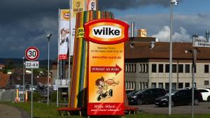 Wilke-Wurst auch unter anderen Namen in Handel gegangen