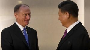 Russland und China feiern Gaspipeline