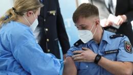 Corona-Impfung für Polizisten