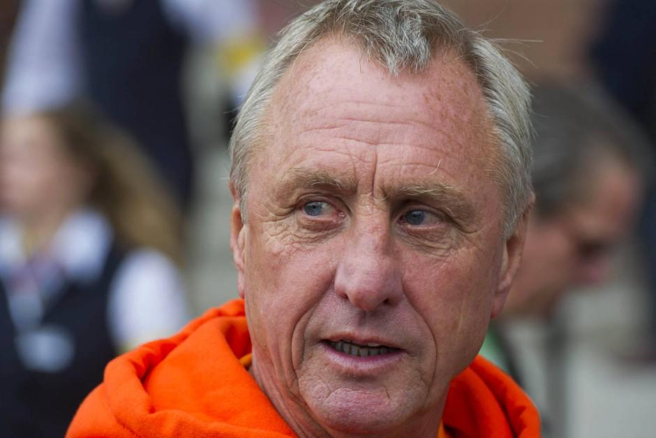 Johan Cruyff: Der große Spielmacher der 70er brachte den niederländischen Kombinationsfußball nach Barcelona