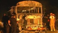 Fünfzehn Tote bei Busbrand