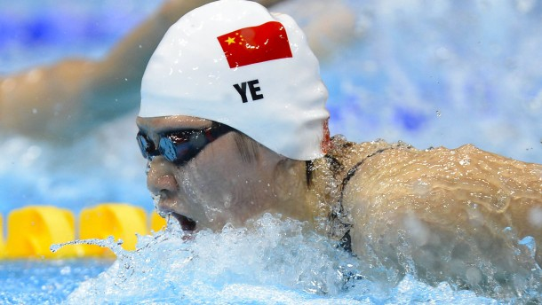 Akt der Willkür gegen Chinas Sportstars