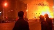 Großbrand in Moskau
