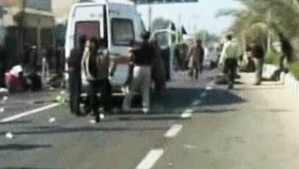 Viele Tote bei Anschlag auf schiitische Moschee