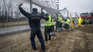 Mehrheit der Deutschen hält Grenzsicherung Europas für unzureichend