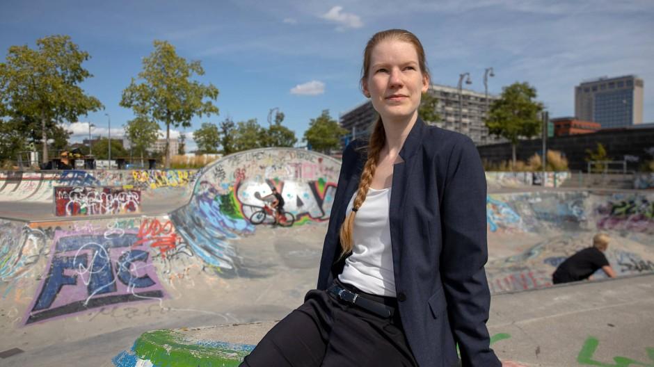 Umweltschützerin: Vicky Metzen ist Architektin der Gruppe Architects for Future.