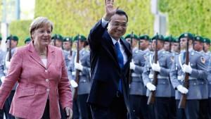 Besuch vom schwierigen Partner China